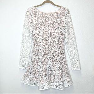 The Jetset Diaries Samba Dress in White Size S